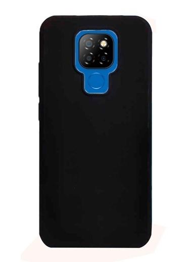 MobilCadde General Mobile GM 20 Silikon Telefon Kılıfı Siyah
